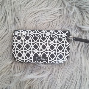 Very Bradley wristlet with magnetic closure.